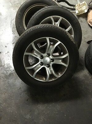 Ford Fg Xt 16 Inch Allow Wheels And Tyres - 70% X 4