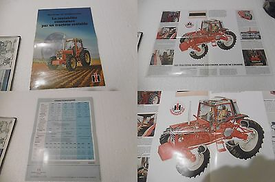 Brochure Ou Prospectus Tracteur International Ih