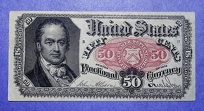 50 Cent Fractional Currency Fifth Issue AU