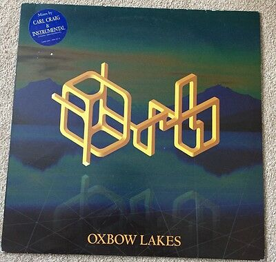 "The Orb Oxbow Lakes 1995 UK 12"" Remix Rare."