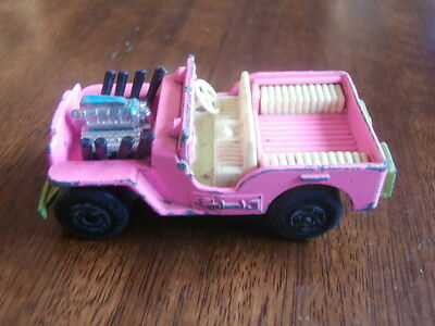 MATCHBOX SUPERFAST JEEP HOT ROD No.2 MADE IN ENGLAND BY LESNEY