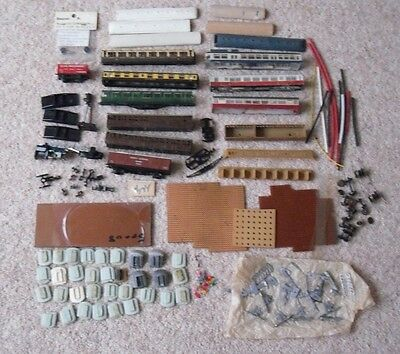 Selection N Gauge Railway Bits & Pieces  (Might Be Useful For Spares / Repairs)
