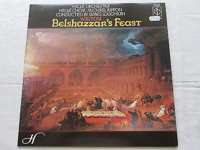 Walton Belshazzar's Feast - Halle Orchestra Michael Rippon 1974 Stereo Cfp 40063