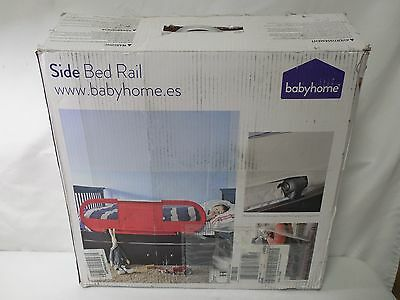 BabyHome Side Light Bed Rail- White
