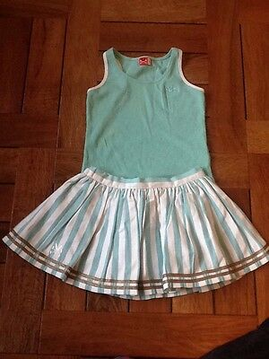 no added sugar skirt and top set age 4