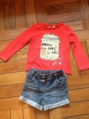 next girls shorts and top