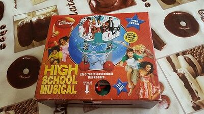 NEW! Disney High School Musical Electronic Basketball Backboard (Lot)