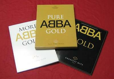 'Pure ABBA Gold' long deleted 2x songbook boxed set, UK