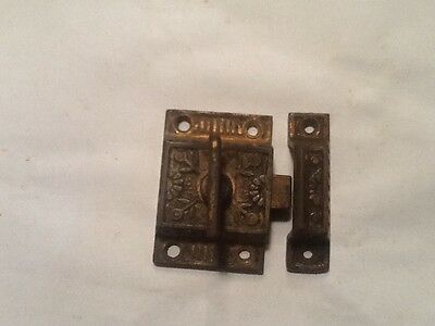Antique cabinet door latchs 2 left
