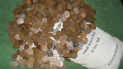 2 Rolls of WHEAT PENNY'S!! Possibly 1909 TO 1958D! A Nice Mix Of TEENS to 50's!