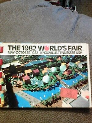 The 1982 world's fair Knoxville Tennessee USA little book