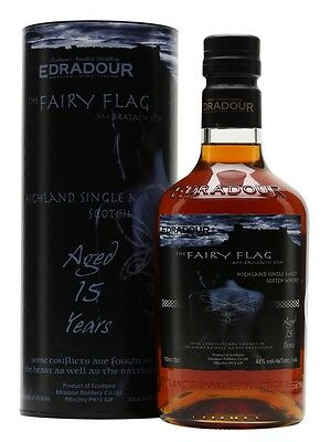 Edradour 15 year Old The Fairy Flag Single Malt Scotch Whisky 700ml