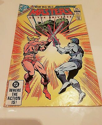 Masters Of The Universe #3 of 3 1983 Comic