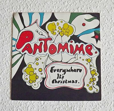 The Beatles Pantomine Everywhere It's Christmas 1966 Fan Club Flexi Disc