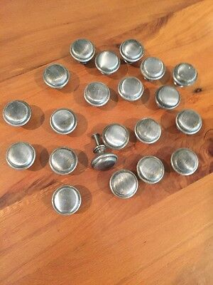 21 Pewter Brushed Nickel Finish Drawer Pulls