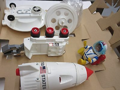 Vintage Eldon Billy Blastoff Battery Operated Space Scout Complete NEVER USED