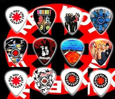 RED HOT CILLI PEPPERS  Guitar Picks Set of 12