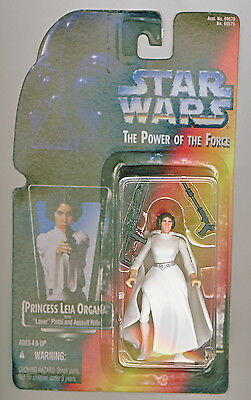 Star Wars Princess Leia Organa Action Figure Power of the Force