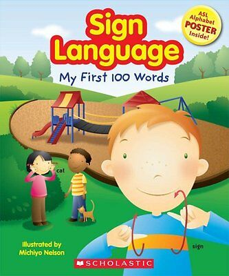 Sign Language My First Words includes ASL Alphabet Poster (pb) NEW