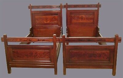 Pair Of Beds American Aesthetic Movement