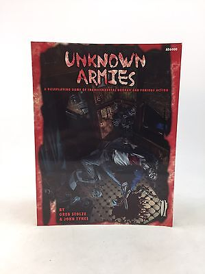 UNKNOWN ARMIES ~ RPG ~ Horror & Furious Action ~ Atlas Games~  AG6000