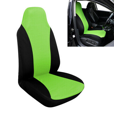 New Green Front Bucket Universal Car Seat Covers fit for Auto Vehicle Truck SUV