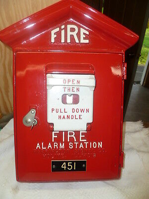 Vintage Harrington fire Alarm Box