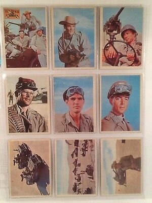 1966 The Rat Patrol Complete Set with Wrapper