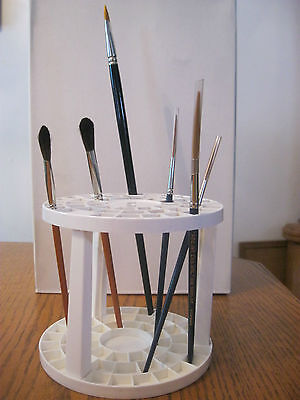 Artist  Brush  Stand Holder -- Organizer ----With 49 Holes