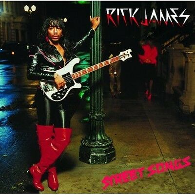 Street Songs - Rick James (2002, CD NUOVO) Remastered