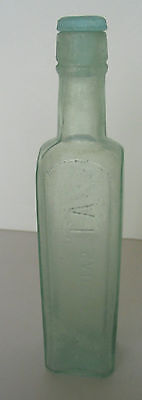 **rare** Antique The A 1 Sauce Bottle With Htf Glass Stopper Brand & Co Ltd