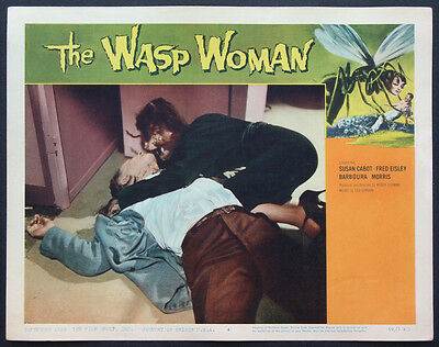 The Wasp Woman Susan Cabot Roger Corman Sci-Fi 1959 Lobby Card #4