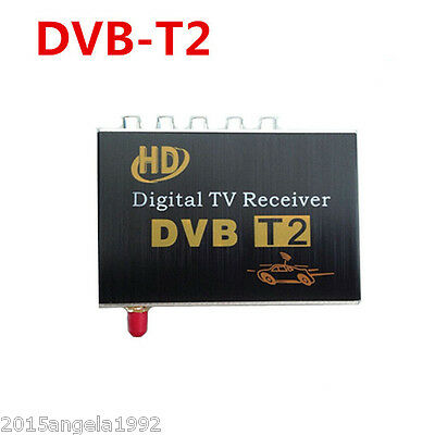 60km/h DVB-T2 Digital TV Single Tuner receiver H.264 MPEG-4 MPEG-2 For Columbia