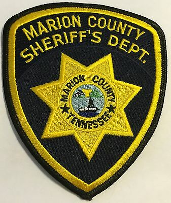 Marion County Tennessee TN Tenn Police Sheriff Patch
