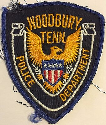 Woodbury Tennessee TN Tenn Police Sheriff Patch