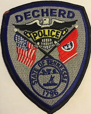 Decherd Tennessee TN Tenn Police Sheriff Patch