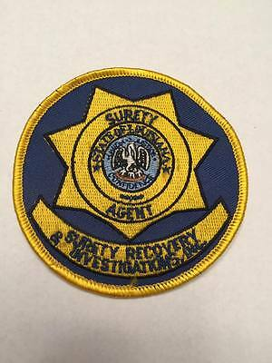 Surety Agent Investigations  Louisiana  Patrol Police Sheriff Patch