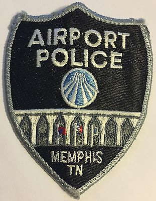 Memphis Tennessee Airport Patrol Police Sheriff Patch