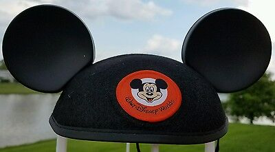 Classic Mickey Mouse ears hat black Available Adult size