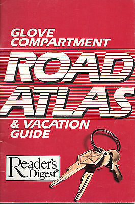 Readers Digest Glove Compartment Road Atlas
