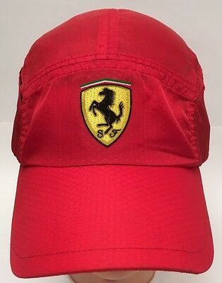 Scuderia FERRARI Official Licensed Product Leightweight Red Baseball Hat