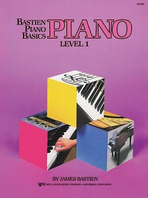 Bastien: Piano Basics Lesson Book Level 1 - Kjos WP201 NEW