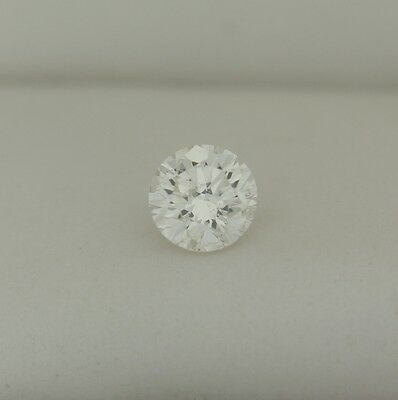 0.53 Ct Round Shape H Color GIA Certified Loose Diamond Laser Inscribed