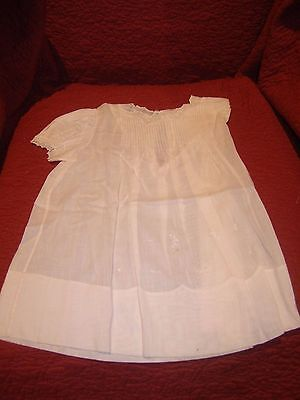 3 Vintage; (6 mo)  Baby Gowns by Pemae;   hand made in Philippines