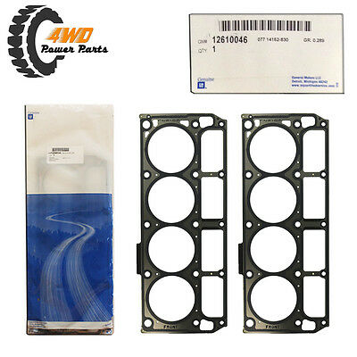 Holden LS3 L98 L76 L77 Genuine Head Gaskets (Pair)