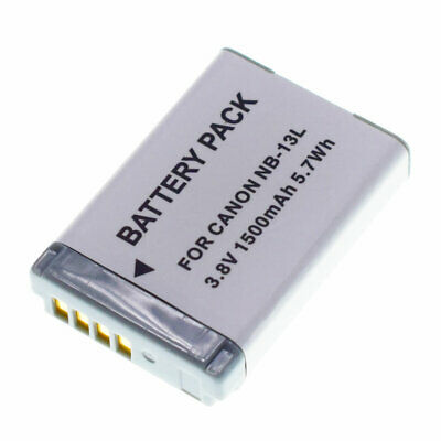 NB-13L Battery For Canon PowerShot SX620 HS SX720 HS G7 X Mark II