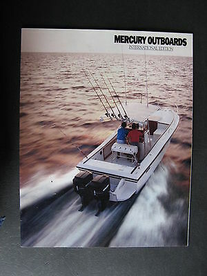 Mercury Outboards INTERNATIONAL EDITION 1989 Cagalogue