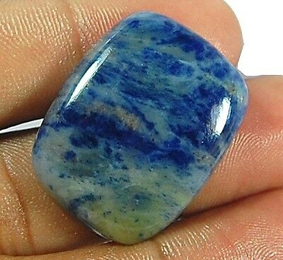 31 Cts 100% Natural S-29X23X5 Mm Octagon Sodalite Loose Gemstone Cabochon
