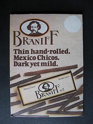 Braniff  Mexican Chicos  Shop Counter Sign