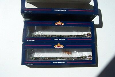 BACHMANN 37-316 x 2 Intermodal Flats Weathered (Pack) Deceased Estate  FREE POST